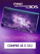 Adquiria o seu Nintendo 3DS Galaxy