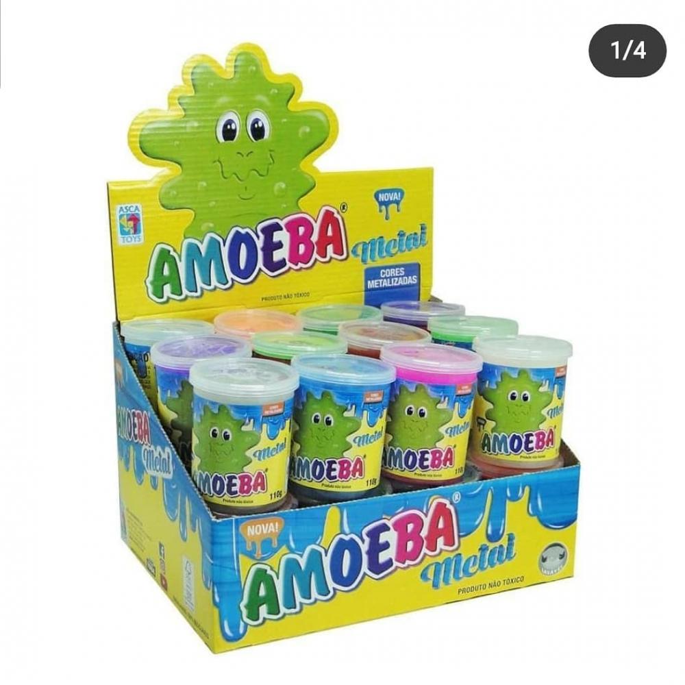 Amoeba Slime Geleia Metal, 110g