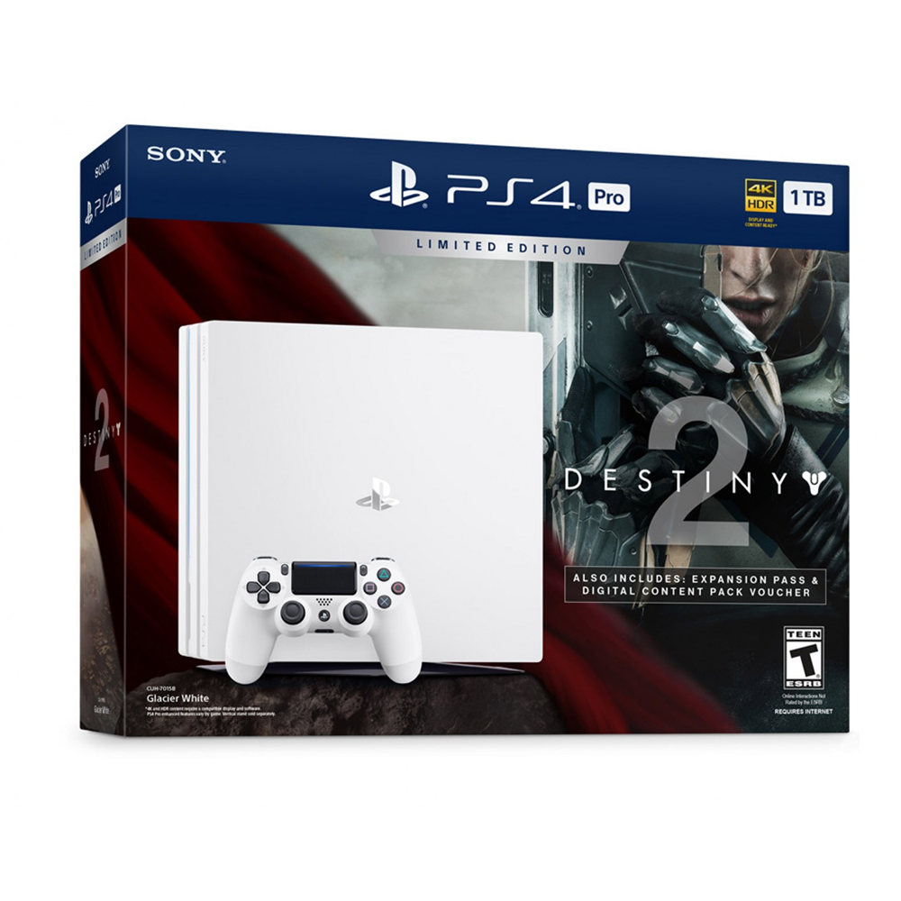 Console Sony Playstation 4 Destiny 2 1tb + 1 Controle