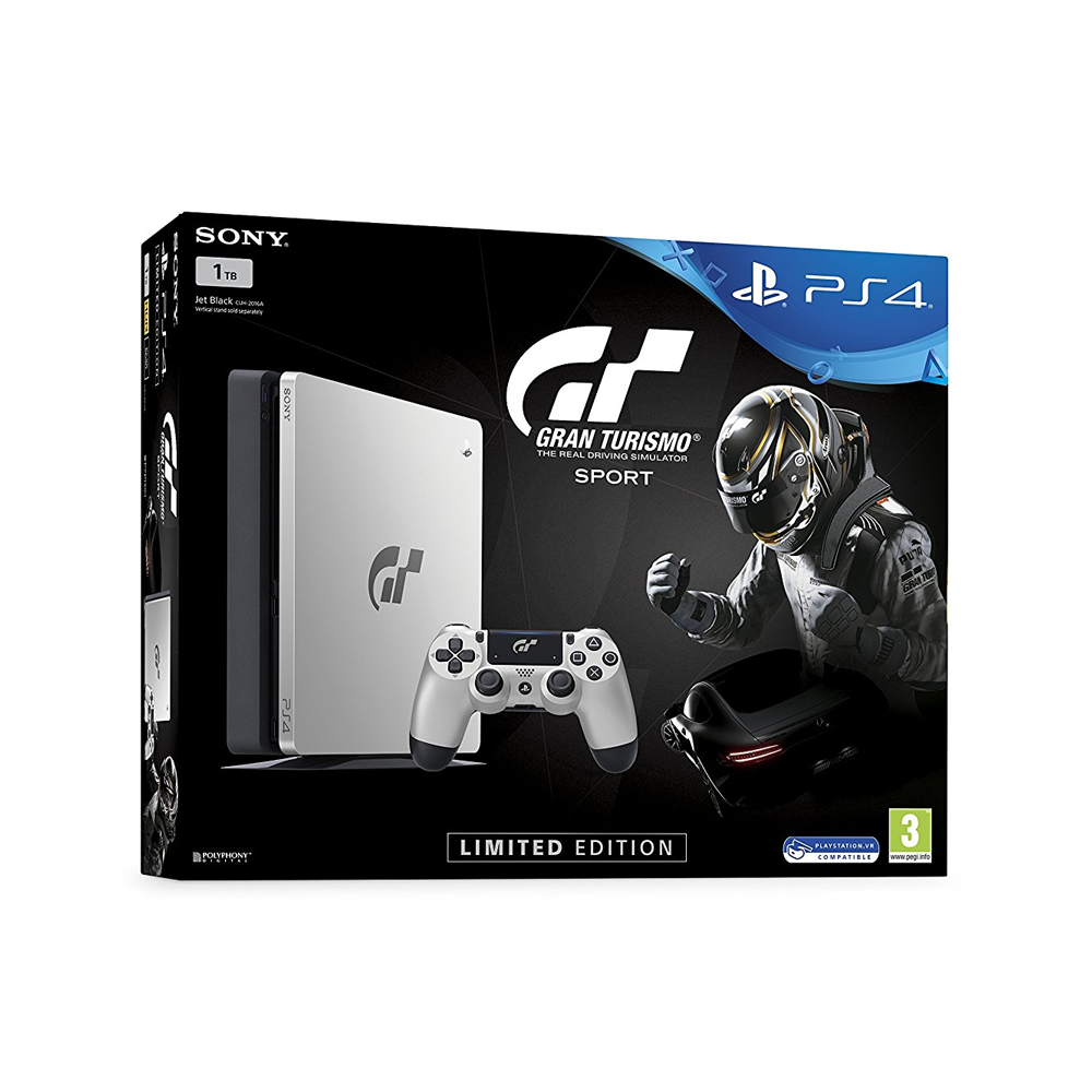 Playstation 4 Slim 1tb Limited Edition Console - Gran Turismo Sport Bundle