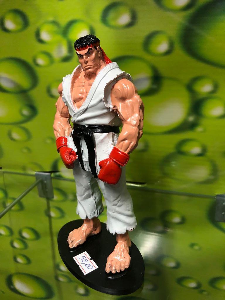 Ryu - Boneco de resina